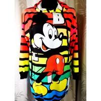 Džemperis-tunika su kapišonu