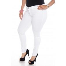 Balti džinsai apkūnioms S3899-1