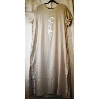 Lininė ilga suknelė iki 62 dydžio