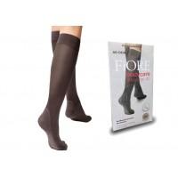 Antibakterinės-kompresinės kojinės iki kelių