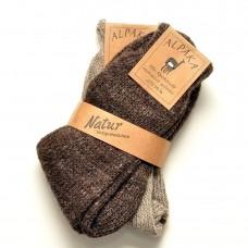 Šiltos kojinės su alpakos vilna