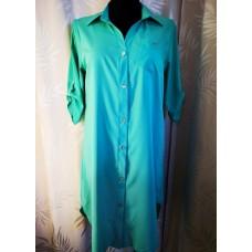 Marškinukai-palaidinė apkūnioms damoms