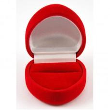 Barchatinė dėžutė žiedui