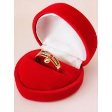 Žiedas su kabančiu bumbuliuku