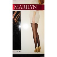 "Pėdkelnės MARILYN su ""raštais 20 DEN"