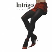 Nepermatamos juodos pėdkelnės Intrigo 60 den