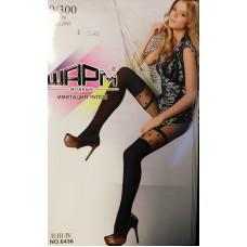 Elastinės pėdkelnės imituojančios kojines 40/300 DEN