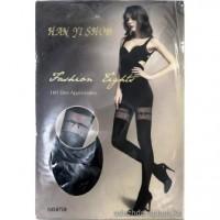 Pėdkelnės su kojinių imitacija (160 DEN kojinės)