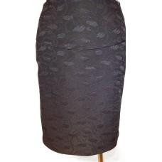 Klasikinis sijonas su skeltuku