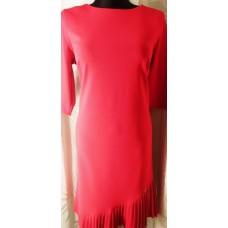 Suknelė su prailginta nugara