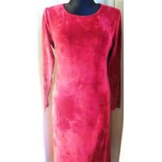 Veliūrinė suknelė
