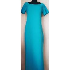 Ilga suknelė  su puošta nugara