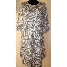 Suknelė su suapvalintais šonais