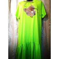 Tunika-suknelė apkūnioms